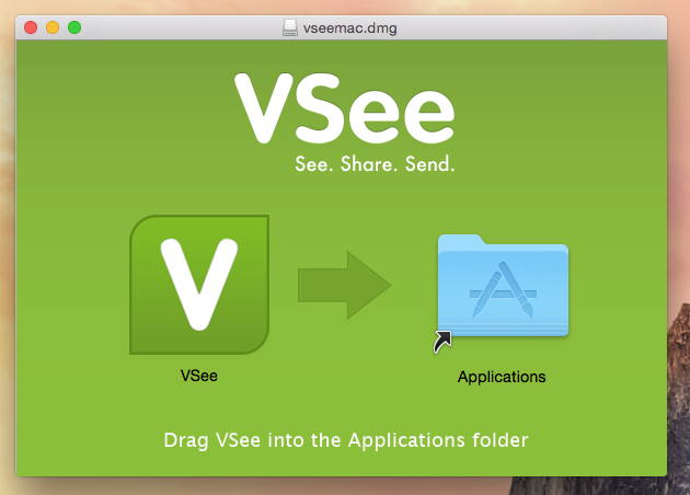 VSee installation window